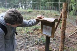 Ptačí stezka poskytuje řadu informací
